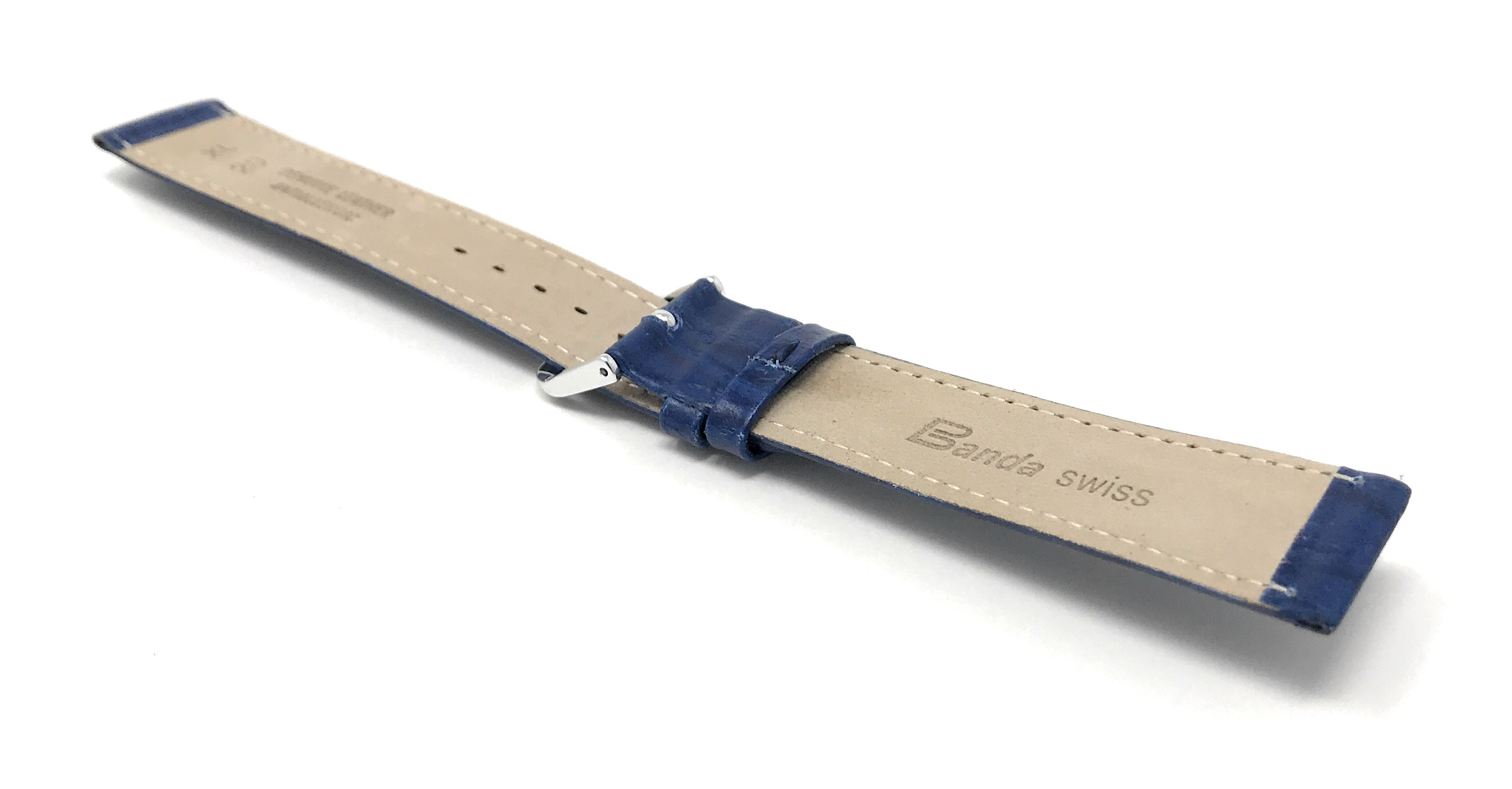 Bandini-Watch-Band-Leather-Strap-Semi-Glossy-10mm-20mm-Extra-Long-Also thumbnail 12