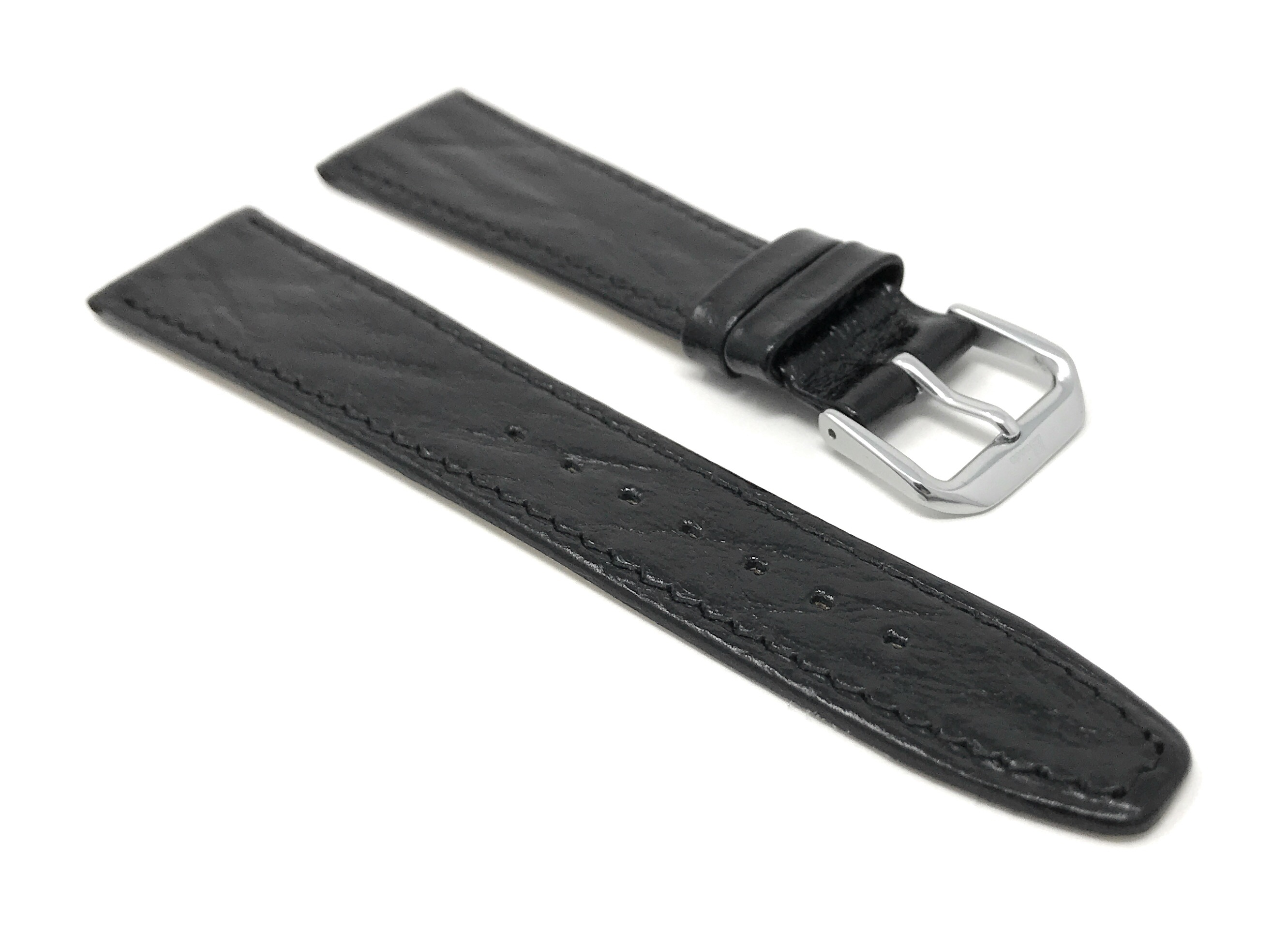 Bandini-Watch-Band-Leather-Strap-Semi-Glossy-10mm-20mm-Extra-Long-Also thumbnail 7