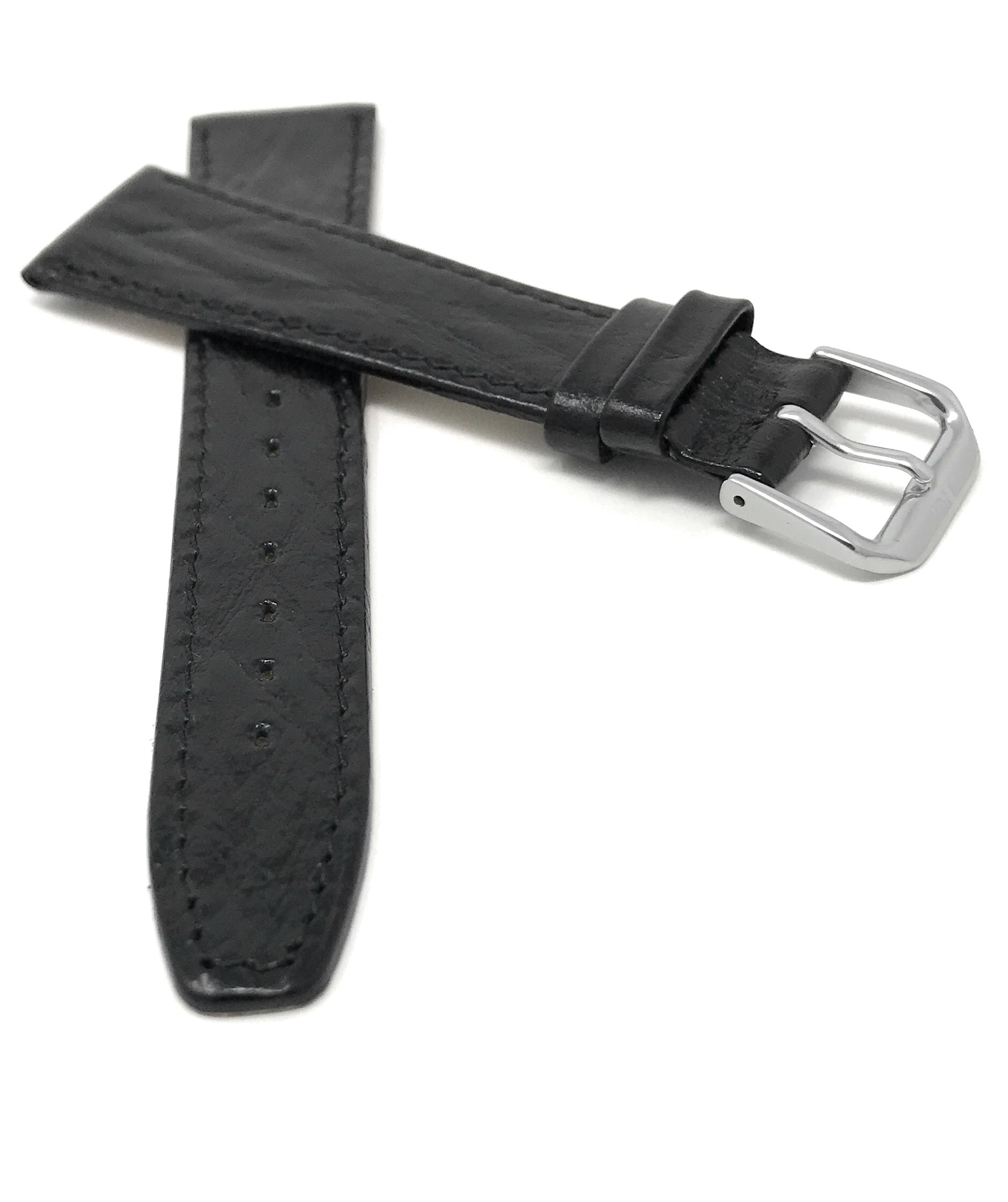 Bandini-Watch-Band-Leather-Strap-Semi-Glossy-10mm-20mm-Extra-Long-Also thumbnail 6
