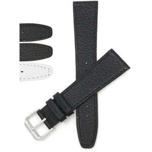 Bandini 102 | Slim Leather Watch Strap, Buffalo Pattern