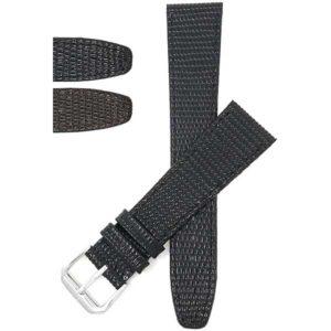 Bandini 103 | Womens Slim Leather Watch Strap, Lizard Pattern