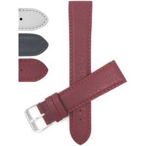 Bandini 216 | Womens Leather Watch Strap, Semi-Padded, Stitching