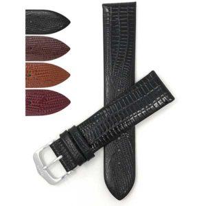 Bandini 429 | Slim Leather Watch Strap, Semi Glossy