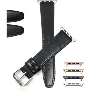 Bandini Thin Leather Watch Band for Apple Watch Series 6/5/4/3/2/1