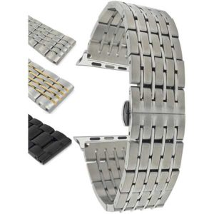 Bandini Stainless Steel Metal Watch Strap for Apple Watch Series 6/5/4/3/2/1