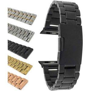 Bandini Stainless Steel Metal Watch Bracelet for Apple Watch Series 6/5/4/3/2/1
