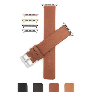 Bandini Leather Quick Release Watch Band for Apple Watch Series 6/5/4/3/2/1
