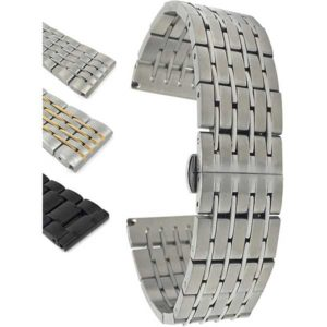 Bandini MET.1400 | Mens Stainless Steel Watch Strap, Metal Watch Strap Replacement
