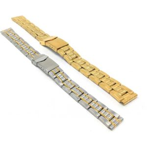 ZRC MET.1583 | Womens Steel Watch Bracelet, Womens Metal Replacement Strap
