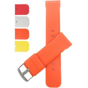 Bandini S030   Thick Silicone Watch Strap, Stainless Steel Buckle