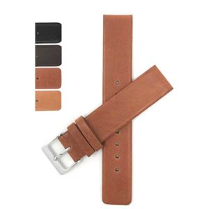 SKG | Leather Quick Release Watch Band for Skagen Watch Straps with Pushpins